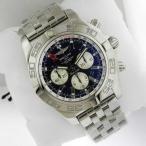 ショッピング円高還元 腕時計 ブライトリング Breitling クロノマット GMT ab041012/ba69 ステンレス スチール 47ミリ Complete Ret: $10,020