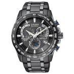 ショッピング円高還元 シチズン 腕時計 ブランド Citizen エコドライブ Perpetual クロノグラフ 腕時計 AT4007-54E