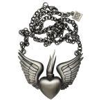 ネックレス・ペンダント 海外厳選ブランド Kitsch N Kouture Winged Sacレッド ネックレス Sacレッド ハート Wings Tattoo