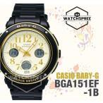 腕時計 カシオ Casio Baby-G New Big-Face Design BGA-150 Series Watch BGA151EF-1B