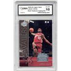 海外セレクション バスケットボール カード NBA2003 Lebron James Upper Deck Trading Card Day rookie gem ミント 10