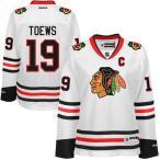 リーボック アイスホッケー NHL アメリカ USA 全米 ナショナルリーグ Jonathan Toews Chicago ブラックホークス レディース ホワイト Away Premier Jersey