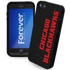 フォーエバーコレクタブルズ ホッケー NHL カナダ アメリカ 北米 USA メジャー Chicago ブラックホークス シリコン iPhone 5 Cover - ブラック