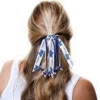 ショッピングmiddle カレッジ NCAA 大学 アメリカ スポーツ USA ディバイン クリエイション  Middle Tennessee State Blue Raiders Women's Beaded Streamer Scrunchie