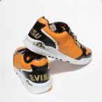 アスレチック エヴィス NEW EVISU メンズ MUTHA オレンジ ブラック US SZ 13