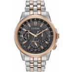 ショッピング円高還元 シチズン 腕時計 Citizen エコドライブ ステンレス スチール ツートン メンズ 腕時計 Calendrier BU2026-65H