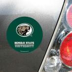 ウィンクラフト カレッジ NCAA 大学 アメリカ スポーツ USA Bemidji State Beavers 4'' Tier サークル Car Magnet