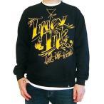 スゥエット & パーカー メンズ 海外セレクション Men's Index Ink Fancy Crew Sweatshirt Black Logo Tattoo Lifestyle
