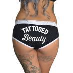アンダーウェア カルテルインク レディース Cartel Ink Tattooed Beauty Boy ボトムス ブラック Inked Tattoo Underwear