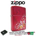 ジッポライター ジッポ - リミテッドエディション Zippo Candy Apple レッド ライターSpecial Celebrationクリスマス #CHRIS10