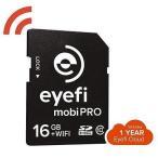 カメラ 写真 フォトアクセサリー メモリーカード Eye-Fi Mobi Pro 16GB WiFi SDHC Card #MOBIPRO-16
