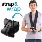 ショッピング写真 ストラップ カメラ 写真 フォトアクセサリー ストラップ ハンドグリップ miggo Strap Wrap Mirrorless (CSC) Black #MW SR CSC BK 50