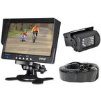 Yahoo!パンダストア自動車エレクトロニクス GPS 車 ビデオ リアビューモニター Pyle PLCMTR71 Weatherproof Rearview Backup Camera System