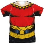 Tシャツ フラッシュゴードン Flash Gordon Costume Allover Sublimation Licensed Adult T Shirt