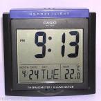 Yahoo!パンダストアカシオ 目覚まし時計  Casio DQ-750F-1D デジタル アラーム 時計 - サーモメーター スヌーズ カレンダー DQ-750 ブラック