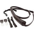 ショッピング写真 ストラップ カメラ 写真 フォトアクセサリー ストラップ ハンドグリップ4V Design Lusso Medium Camera Neck Strap with Universal Fit Kit Black Black