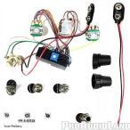 楽器 ギターパーツ バルトリーニ Bartolini HR3.4/918 Pre-wired Active Preamp Harness 9V/18V Three Band EQ NEW