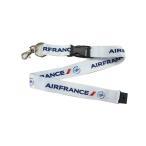 全国送料無料 Kool Krew/クールクルー ランヤード エールフランス ロゴ ホワイト LNAF02 b03