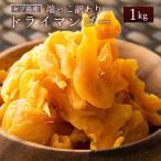 セブ島 ドライマンゴー 1kg(500g×2) 種周り 切り落とし 不揃い 半生 ドライフルーツ 肉厚 セブ島 フィリピン 訳あり チャック付き 大容量 ビタミン