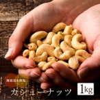 カシューナッツ 素焼き 1kg(500g×2) 無添加 無塩 ロースト カシュー ナッツ ベトナム産 オレイン酸 亜鉛 美容 健康 大容量 腸活  おつまみ