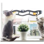 Panni 猫 おもちゃ ボール  ストレス解消 運動不足対策 窓 壁に取り付ける 吸盤タイプ