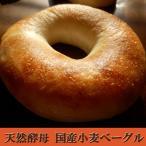 国産小麦 天然酵母 ベーグル プレーン 2個セット