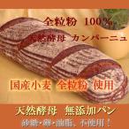 国産小麦 天然酵母 全粒粉 100% カンパーニュ 特大