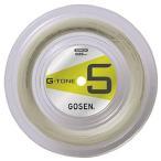 ゴーセン(GOSEN) バドミントン ストリングス G - TONE 5 ナチュラル 100mロール BS0651NA