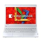 【アウトレット】東芝 dynabook R734  Win8.1/i5-4200M/4G/1000GB/13.3インチ(ホワイト) DVDマルチドライブ内蔵 (PR73436KSUWE)