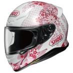 ショウエイ SHOEI  バイクヘルメット フルフェイス Z-7 HARMONIC TC-7 PINK WHITE  L  頭囲 59 60cm  Z-7