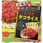 カゴメ 押し麦ごはんで沖縄風トマトタコライス 196g