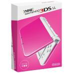 新品 3DS Newニンテンドー3DS LL ピンク×ホワイト (RED-S-PAAA)