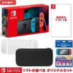 新品 NSW Nintendo Switch ソフトが選べるオリジナルセット(ニンテンドースイッチ本体)(HAC-S-KAAAA)