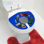 ウルトラSALE/ スパイダーマン 折り畳み便座 子供用トイレ 折りたたみコンパクト 子供用便座 便器に置くだけ トイレトレーニング トイトレ (DM便不可)