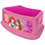 ディズニー プリンセス ステップスツール 子供 踏み台 キャラクター ピンク 滑り止め付き ステップ台 洗面 トイレ