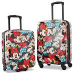 Online ONLY(海外取寄)/ サムソナイト アメリカンツーリスター ミニー スーツケース スピナー 2個セット ディズニー キャリーバッグ
