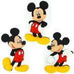 ディズニー ミッキーマウス キャラクター ボタン 3個セット 男の子 JJ7716 disney_y