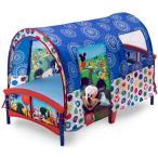 子ども テントベッド ディズニー ミッキーマウス デルタ 幼児 ベッド