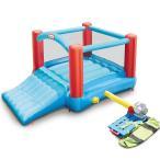リトルタイクス パックゴー バウンサー 大型遊具 子供 家庭用 スライダー エアー遊具 すべり台 トランポリン