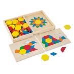 ショッピングメリッサ 11月上旬入荷予約販売/ 知育玩具 パズル Melissa & Doug パターンブロック&ボード クラシックトイ