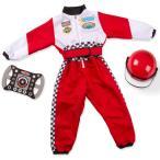 ショッピングメリッサ レーサー コスチューム 3歳 4歳 5歳 6歳 小物付き メリッサ&ダグ ハロウィン 仮装 子供 衣装 コスプレ
