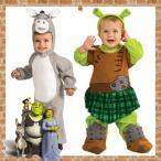 コスチューム子供用男の子女の子ハロウィン衣装シュレックドンキー90-105cmキャラクターコスプレ(DM便不可)