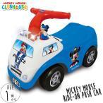 ディズニー ミッキーマウス アクティビティ ライドオン 乗用玩具 車 サウンド&ライト ポリス 消防車 (DM便不可)