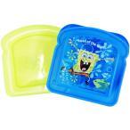ニコロデオン Spongebob スポンジボブ サンドイッチコンテナ お弁当箱 ランチボックス (DM便不可)