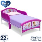 Disney (ディズニー) アナと雪の女王 Delta Childrens  組み立て式 子供用ベッド [並行輸入品]