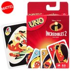 UNO インクレディブル ファミリー ウノ カードゲーム おもちゃ 新品 キャラクター ライセンス ディズニー INCREDIBLE2