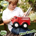 グリーントイズ ファイヤートラック のりもの 消防車 はたらくくるま 1歳から Green toys (DM便不可)