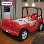Online ONLY(海外取寄)/ リトルタイクス ジープ ラングラー ツインベッド 車型ベッド 子供から大人まで 635632 シングルサイズ