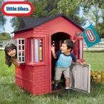Online ONLY(海外取寄)/ リトルタイクス ケープコテージ プレイハウス レッド 据置型 室内 屋外兼用 大型遊具 Littletikes 638749