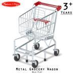 ショッピング Melissa & Doug ショッピングカート メタル グローサリー ワゴン